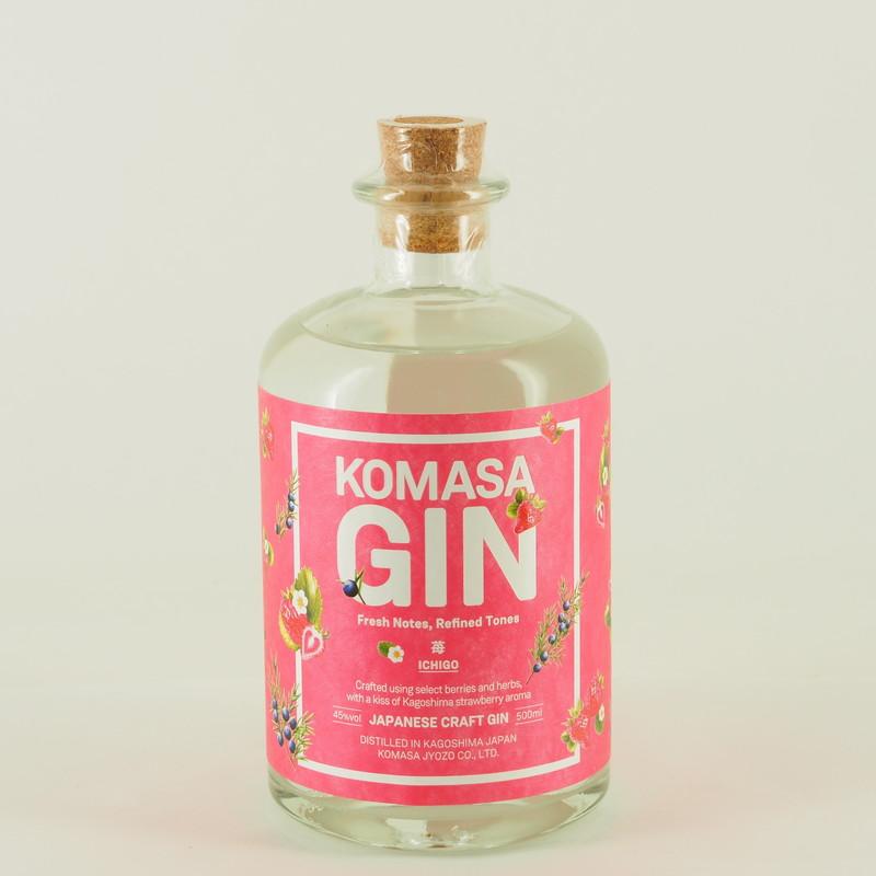 KOMASA GIN -苺- 500ml