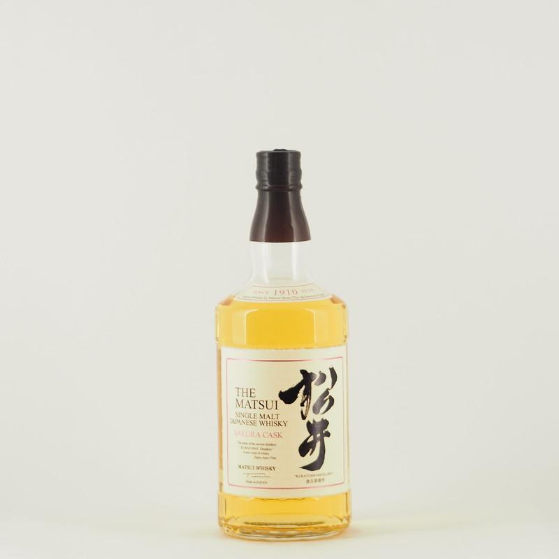 松井シングルモルトウイスキー サクラカスク 700ml 【箱入り】
