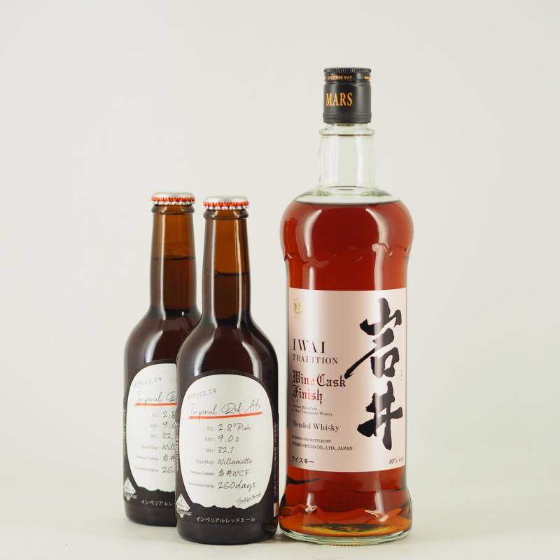 岩井トラディション&南信州ビール ワインカスクフィニッシュ 3本セット