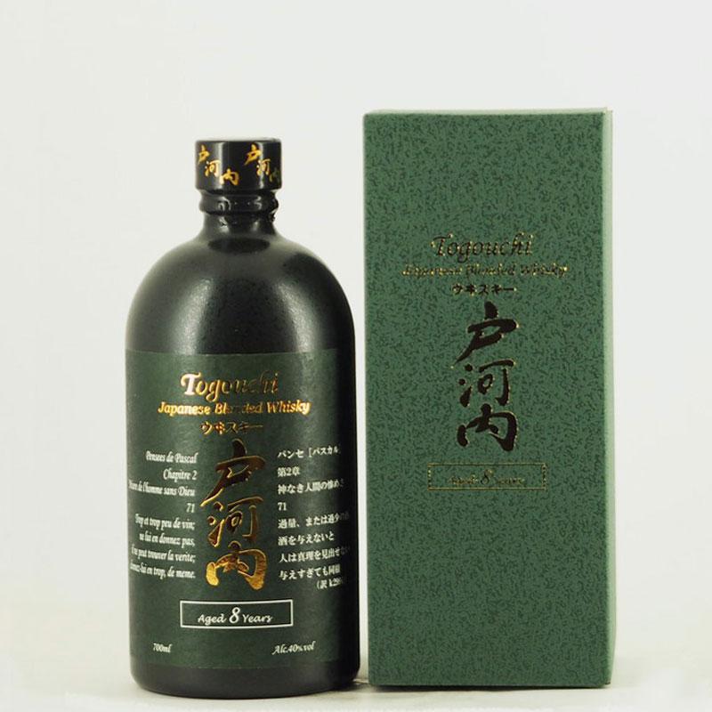 戸河内ウイスキー 8年 700ml【箱入り】