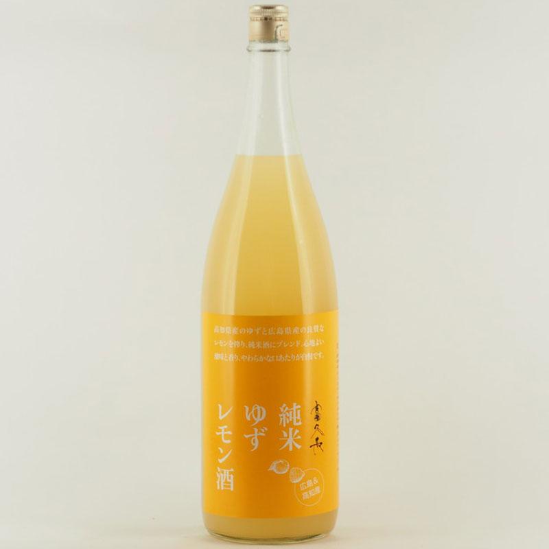 富久長 純米ゆずレモン酒 1.8L
