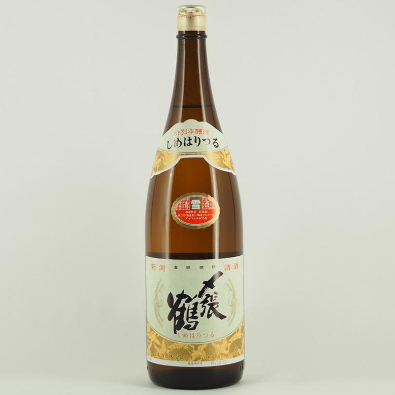 〆張鶴 特別本醸造 雪 1.8L