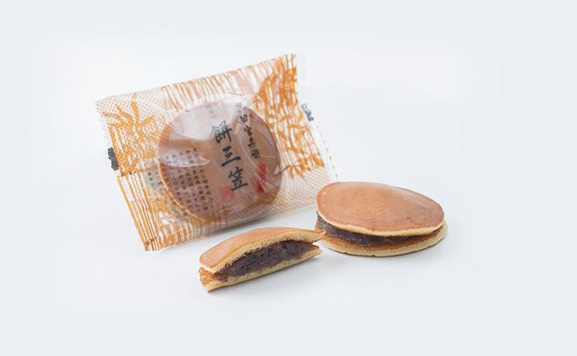 黒田官兵衛 餅三笠 10個入