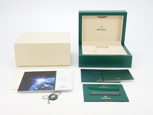 【辛口評価】【SAランク】ROLEX ロレックス オイスターパーペチュアル41 124300 グリーン文字盤 ギャランティー付き メーカー保証期間中