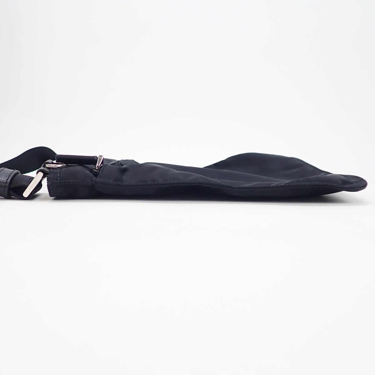 【辛口評価】【Aランク】PRADA プラダ ナイロン ショルダーバッグ 1BH978 ブラック