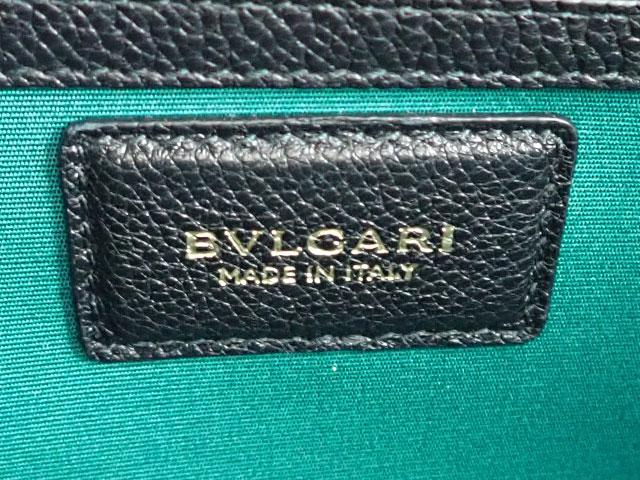 【辛口評価】【SAランク】BVLGARI ブルガリ ブルガリ・ブルガリ アルバ 2WAYバッグ 282591 ブラック