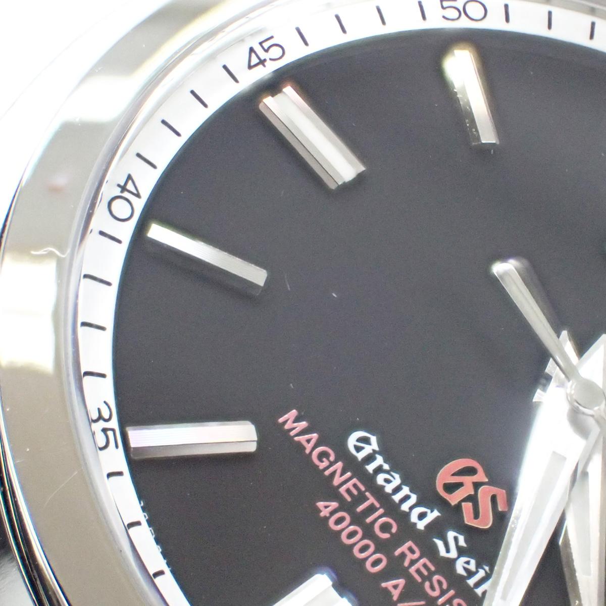 【辛口評価】【Aランク】Grand Seiko グランドセイコー 強化耐磁モデル SBGX093 ブラック文字盤 国内正規品