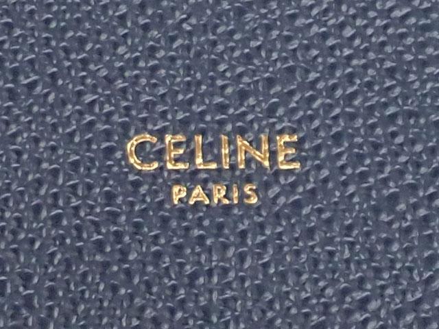 【辛口評価】【SAランク】CELINE セリーヌ カバ スモール  2WAYバッグ 189813XBA.07OC ネイビー