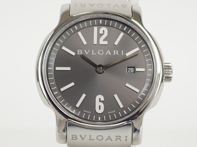 BVLGARI ブルガリ ソロテンポ29 ST29C5SSD グレー【中古A】【中古】