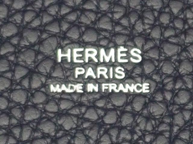 【辛口評価】【Sランク】HERMES エルメス ピコタンロックMM ハンドバッグ トリヨンクレマンス シルバー金具 ブルーニュイ 国内正規品 Y刻印