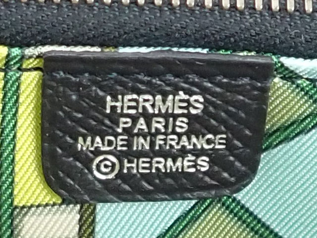 【辛口評価】【Sランク】HERMES エルメス アザップ ロング シルクイン ラウンドファスナー 長財布 H067388CKAH ヴォーエプソン ブラック
