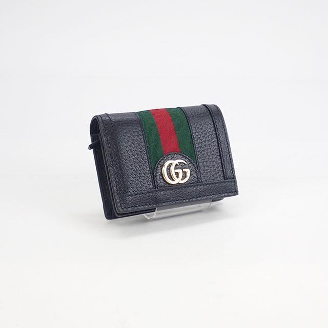 【辛口評価】【Sランク】GUCCI グッチ オフィディア GG カードケース(コイン&紙幣入れ付き)二つ折り  523155 DJ2DG 1060
