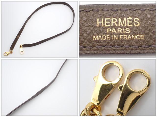 【辛口評価】【Aランク】HERMES エルメス ケリー32 外縫い ヴォーエプソン オリーブ×ゴールド金具