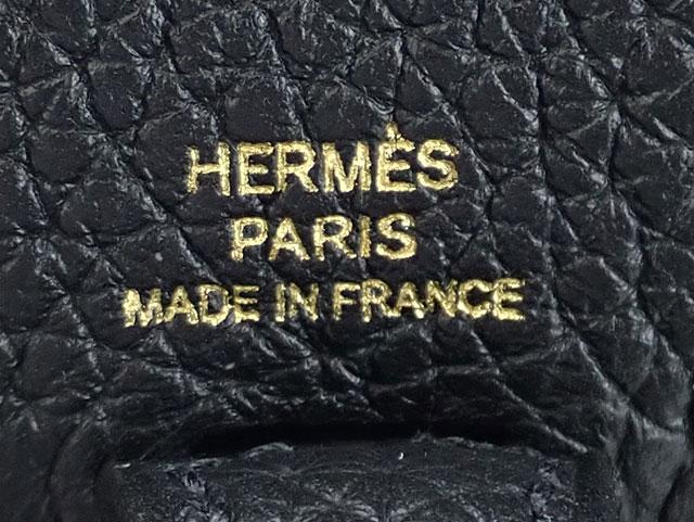 【辛口評価】【Sランク】HERMES エルメス エヴリン TPM アマゾン ショルダーバッグ トリヨンクレマンス ブラック ゴールド金具