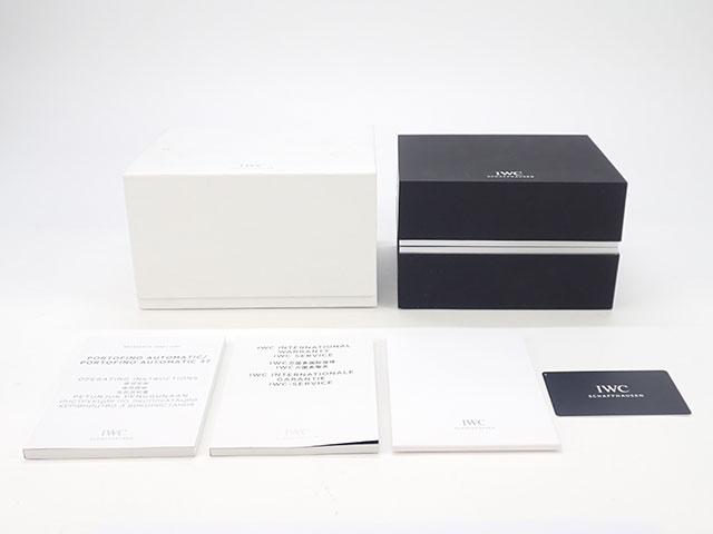 【辛口評価】【Aランク】IWC インターナショナルウォッチカンパニー ポートフィノ・オートマティック  IW356517 ブラック レザー