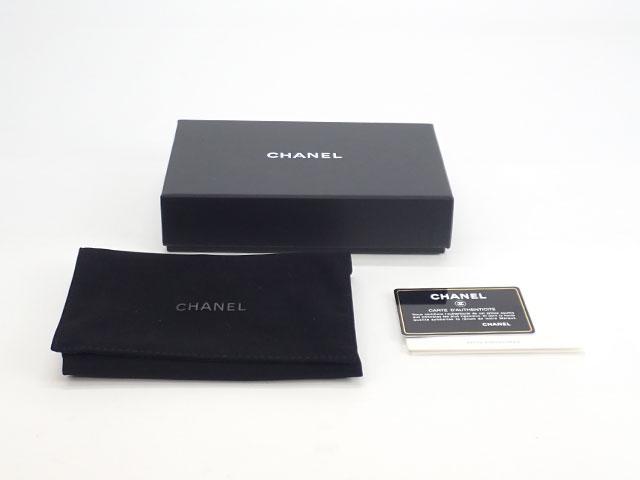 【辛口評価】【Aランク】CHANEL シャネル 19 ジップウォレット ラウンドファスナー長財布 AP0948 ゴートスキン ブラック