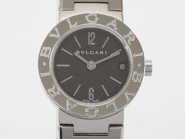 【辛口評価】【Aランク】BVLGARI ブルガリ ブルガリブルガリ BB23SSD ブラック文字盤