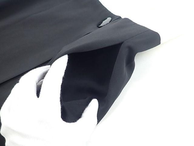 【辛口評価】【Aランク】CELINE セリーヌ ノースリーブ ワンピース サイズ36 ホワイト ブラック