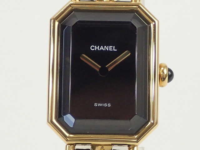 【辛口評価】【Bランク】CHANEL シャネル プルミエール Lサイズ H0001