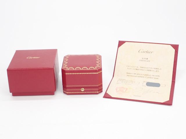 【辛口評価】【Aランク】Cartier カルティエ K18WG LOVE ラブ リング B4084700 #64 ゲージ棒約23号強