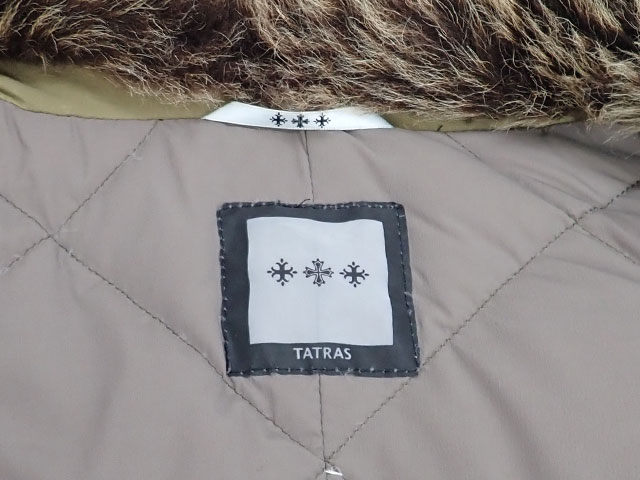 【辛口評価】【ABランク】TATRAS タトラス ポンチョ サイズ01 LTA13A4287 カーキ