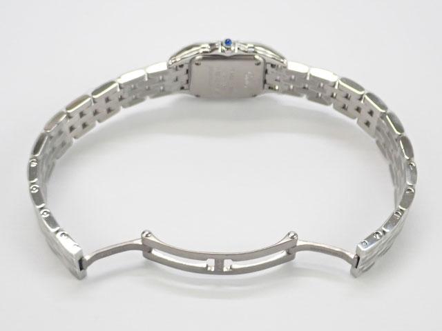 【辛口評価】【Sランク】Cartier カルティエ パンテール ドゥ カルティエ ウォッチ SM レディース腕時計 WSPN0006 白文字盤