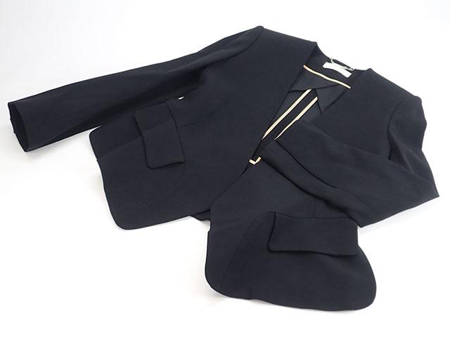 【辛口評価】【Aランク】Chloe クロエ ジャケット 15AVE22-15A038 サイズ34 ブラック