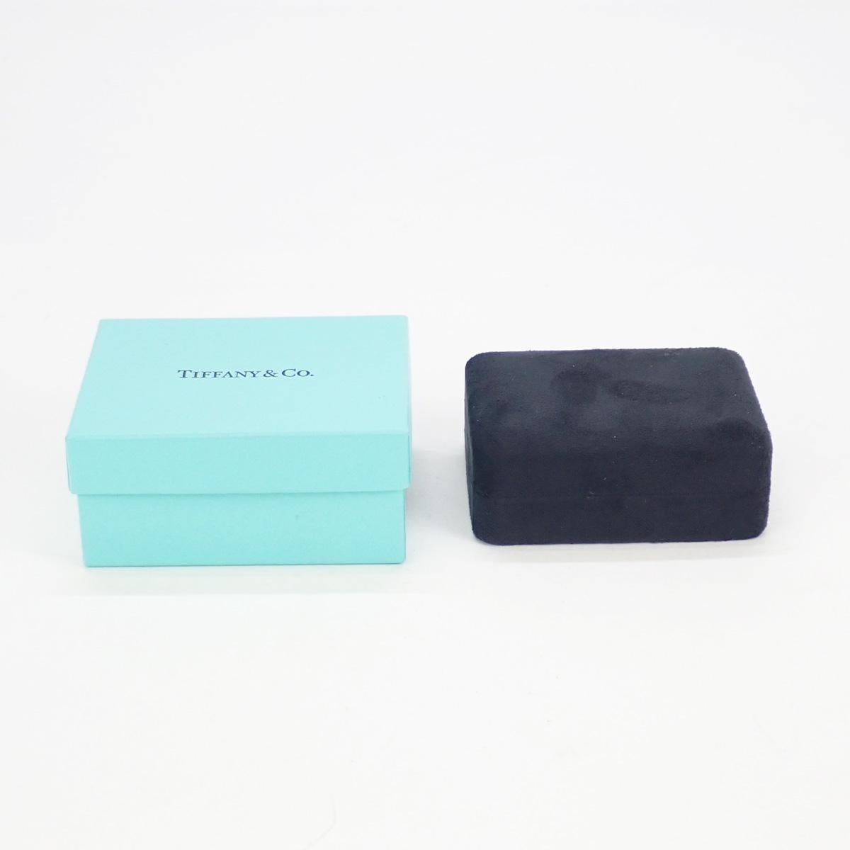 【辛口評価】【Aランク】TIFFANY&Co. ティファニー Pt950 ソリティア ダイヤモンド ピアス