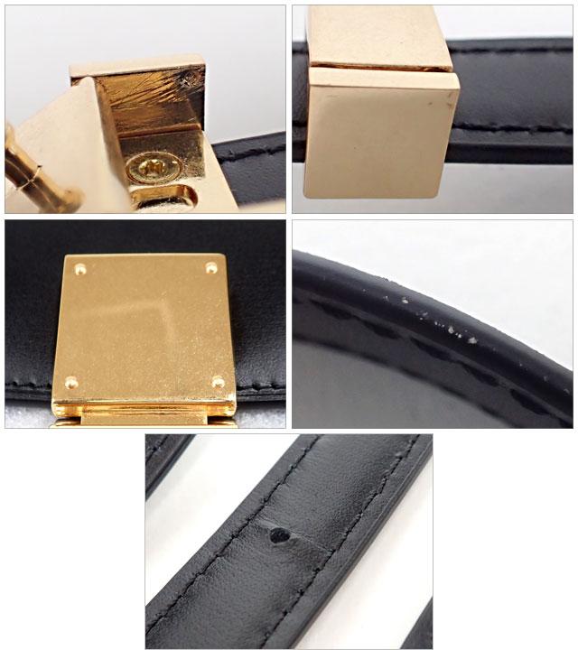 CELINE セリーヌ クラシック ミディアム 189173DLS.38NO BOXカーフ ブラック 新ロゴ【中古A】【中古】