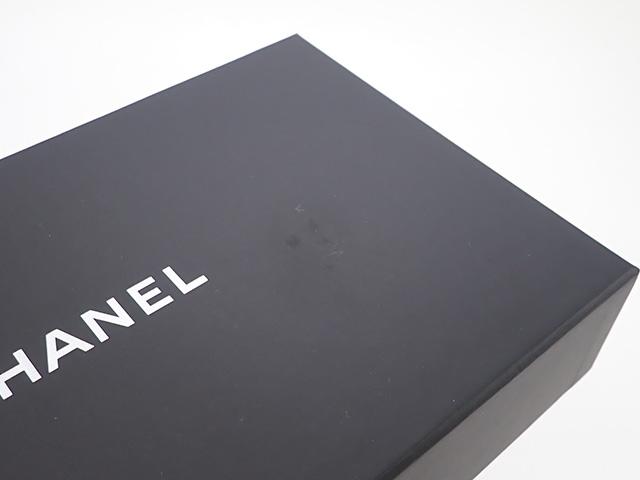 【辛口評価】【Sランク】CHANEL シャネル チェーンウォレット A82527 キャビアスキン グリーン×ゴールド金具