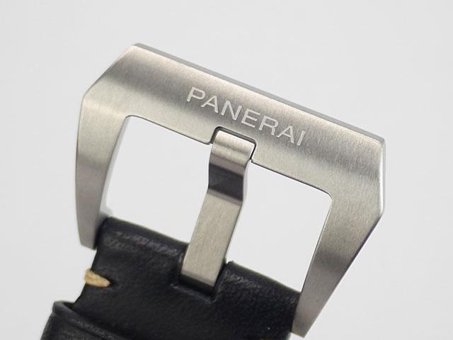 【辛口評価】【Sランク】PANERAI パネライ ルミノール ロゴ PAM01084 ブラックレザー ブラック文字盤