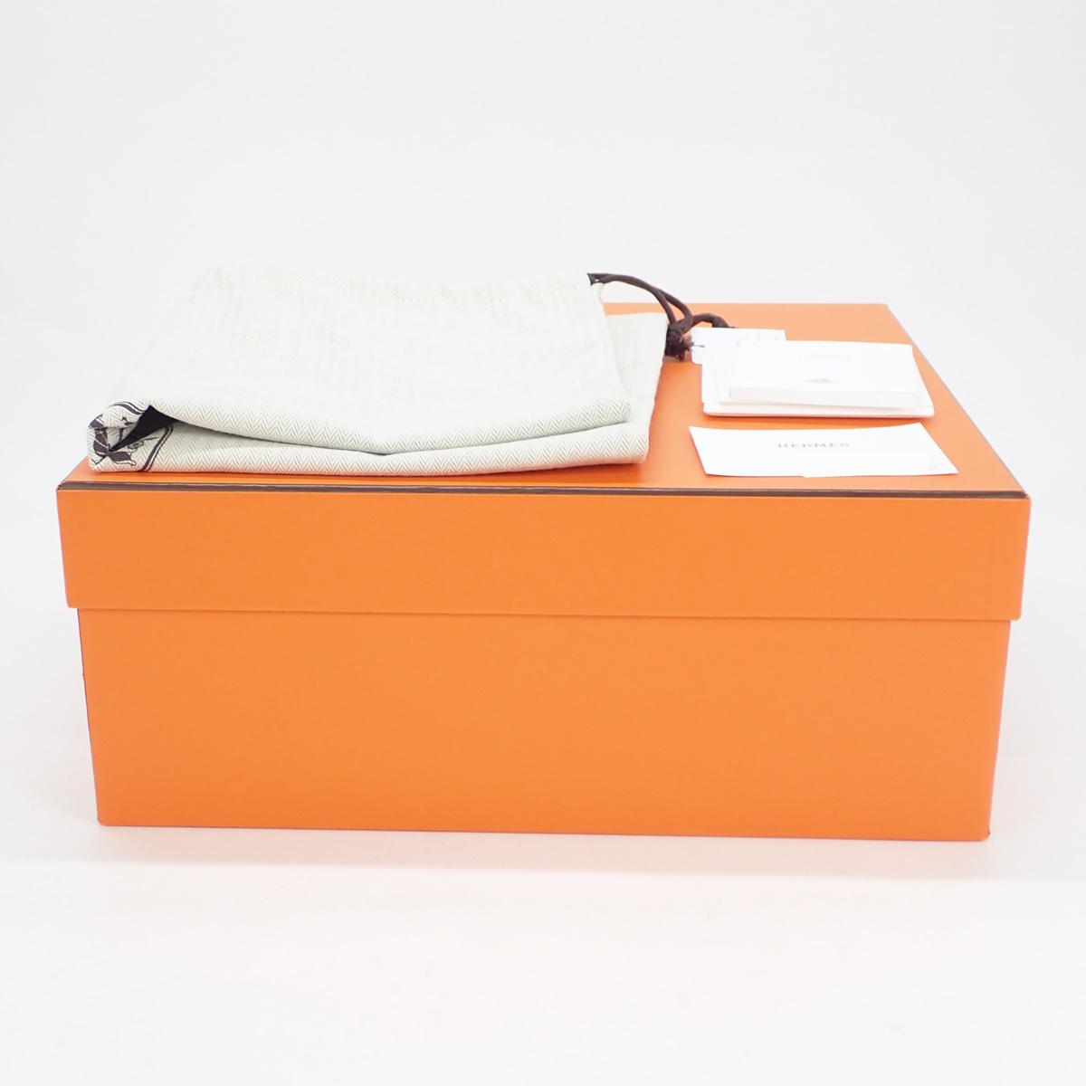 【辛口評価】【Aランク】HERMES エルメス ガーデンパーティTPM トートバッグ ネゴンダ グリアスファルト シルバー金具