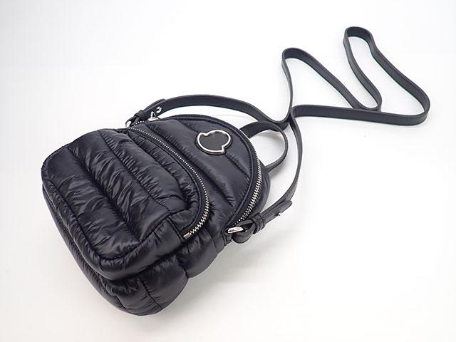 [商談中】【辛口評価】【SAランク】Moncler モンクレール KILIA ミニショルダーバッグ F109B5L60010 ナイロン ブラック