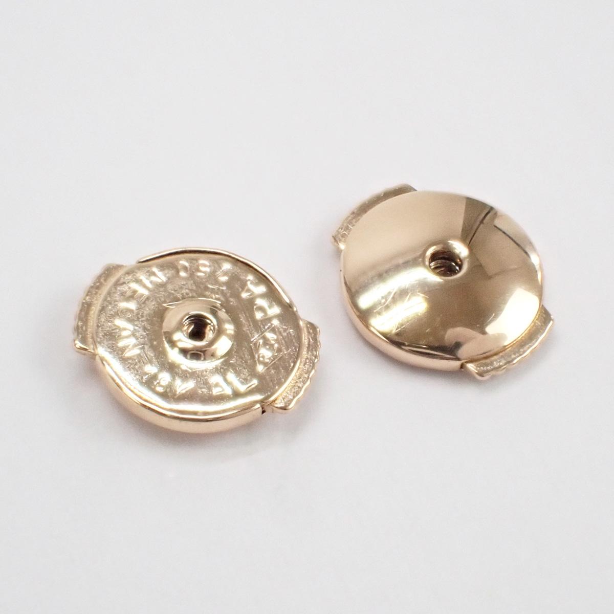 【辛口評価】【Aランク】Cartier カルティエ K18PG ディアマン レジェ イヤリング XS ピアス D0.04ct B8301214