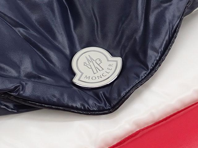【辛口評価】【Aランク】Moncler モンクレール BUSTA PIUMINO クラッチバッグ D209P0081185 68950 ナイロン トリコロール