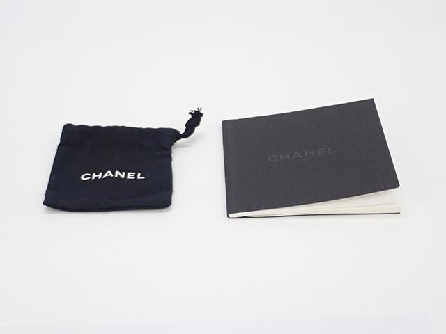 【辛口評価】【Aランク】CHANEL シャネル K18WG カメリアピアス ダイヤ J1859 9P370 シルバーカラー
