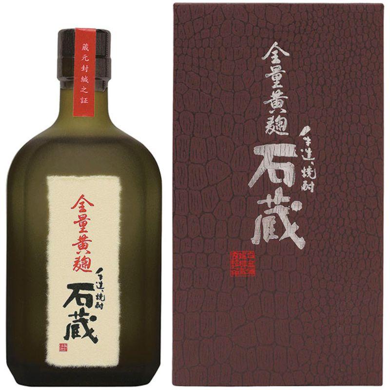 手造り焼酎 全量黄麹石蔵(化粧箱入り)720ml