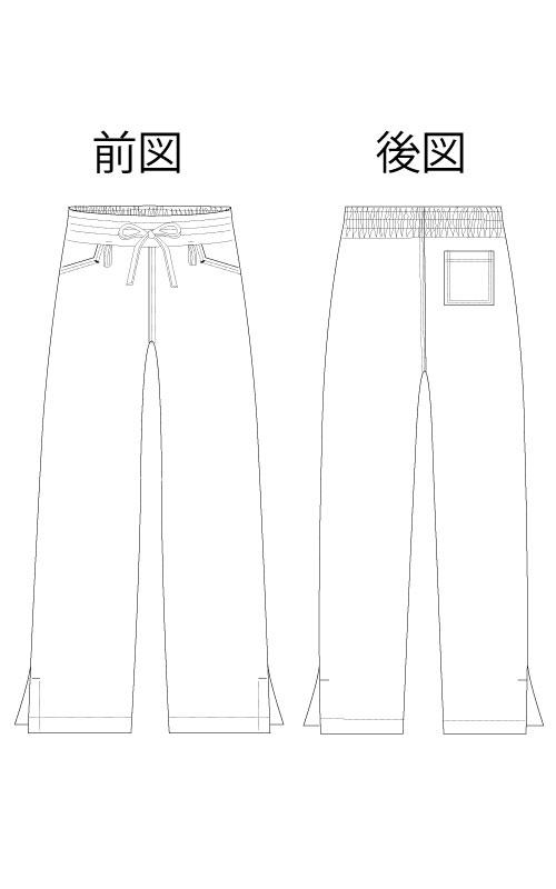 Z1084(レギュラー) /Z1085(ロング)  シェア・フィットパンツ男女兼用