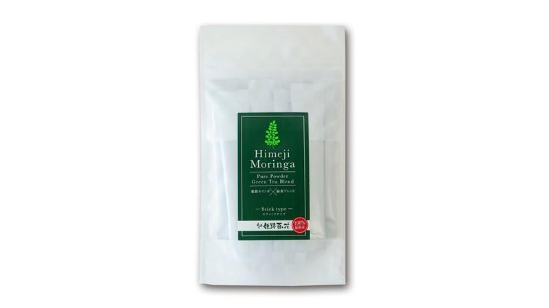 姫路モリンガ ピュアパウダー×緑茶ブレンド スティックタイプお試し<br>(1gx10包)