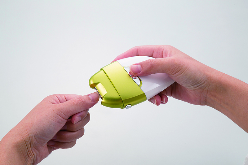 電動爪削りLeaf DX