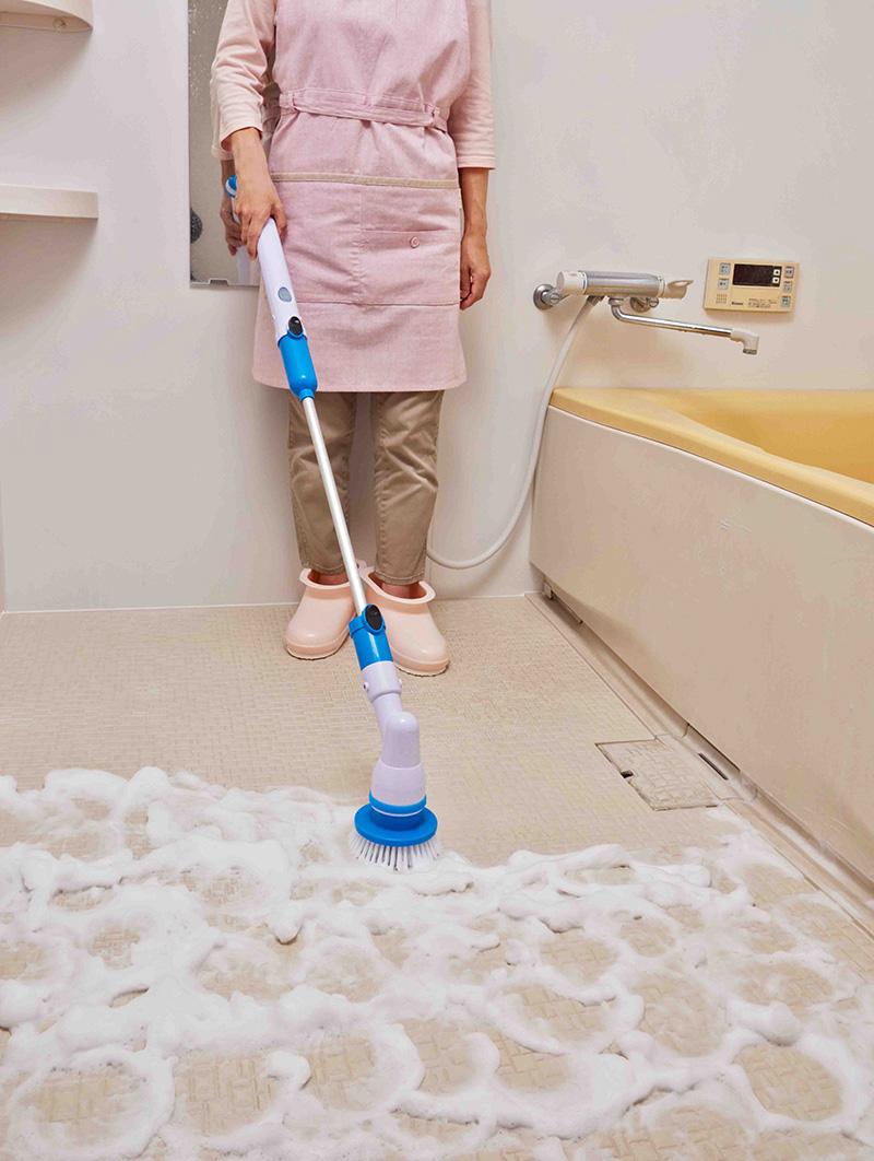 充電式お掃除ポリッシャー