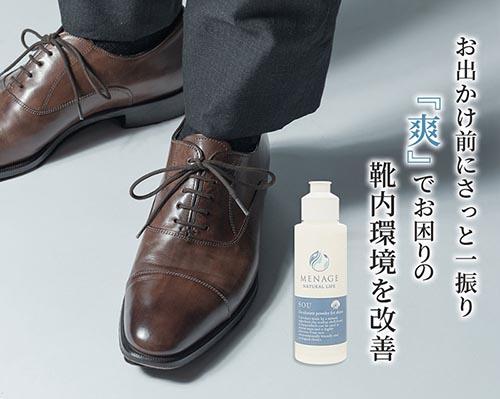 靴用消臭除菌パウダー SOU
