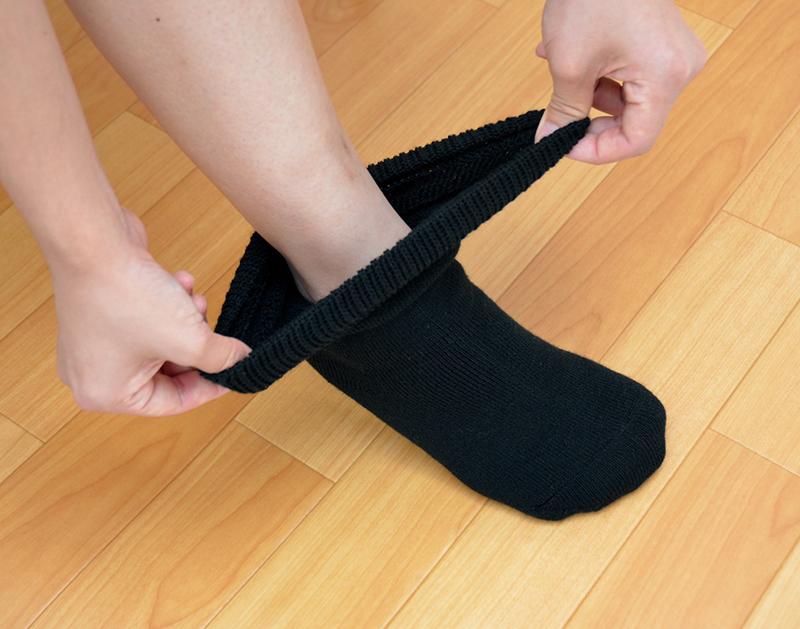 締め付けない靴下 「あったかラクーダ」