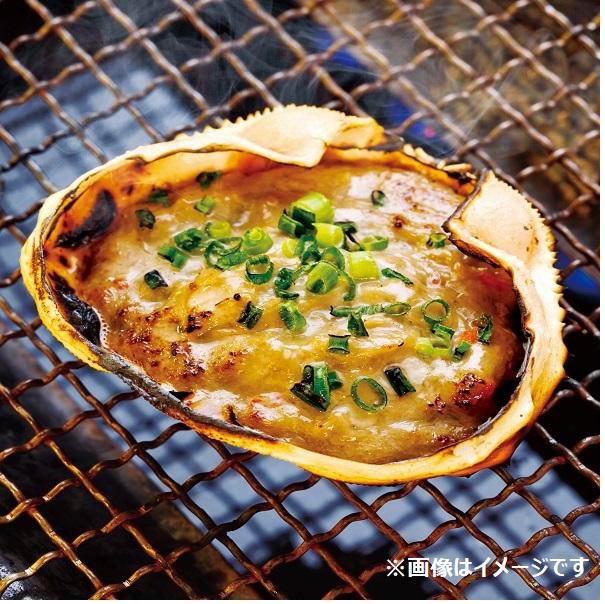蟹味噌甲羅焼(6食)