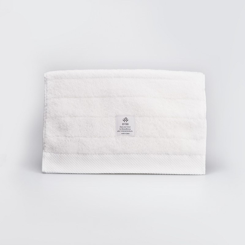 BYBB GUEST TOWEL WH