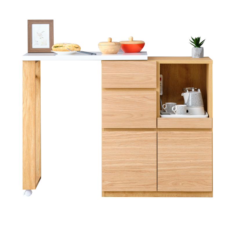 キッチンボード キッチンカウンター 木 おすすめ 商品画像
