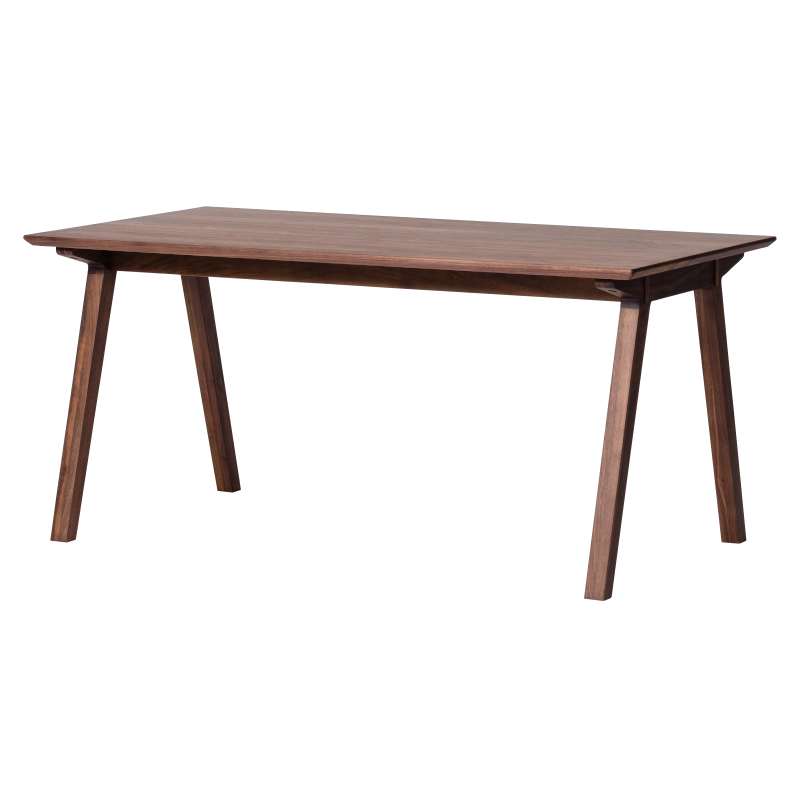 D VECTOR PROJECT SECCO DINING TABLE 150 (WALNUT)