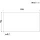 【PSマット】バレット150cm幅ダイニングテーブル用マット