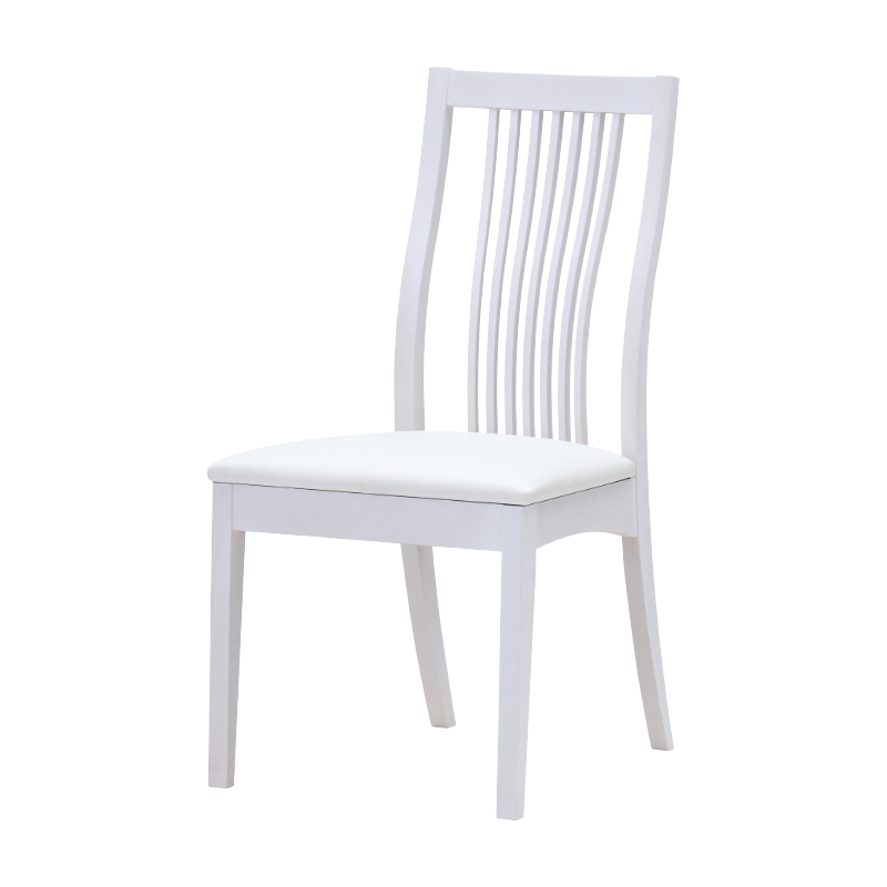 ISSEIKI BALET DINING CHAIR (RW-WH-PVC-WH)