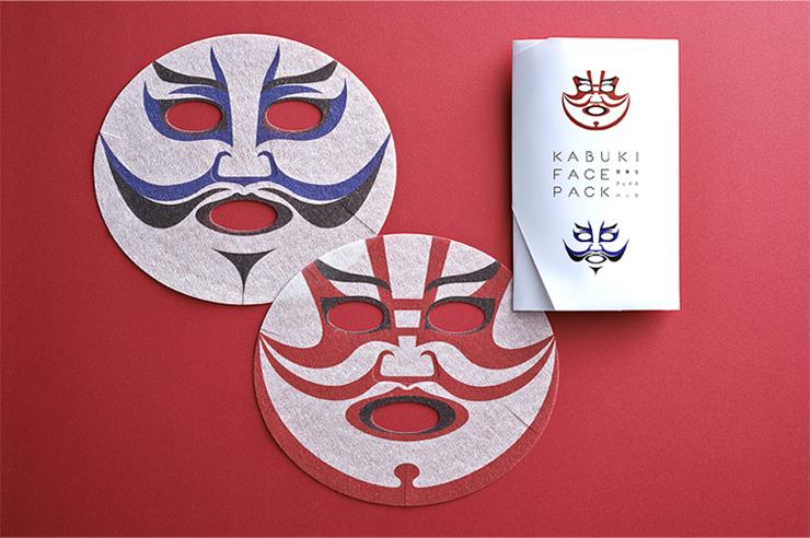 歌舞伎フェイスパック「暫」「船弁慶」